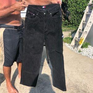 Tommy Hilfiiger Black Jeans